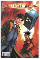 Doctor Who #1 2008 VF/NM 1St. Print IDW Comics Free Bag/Board