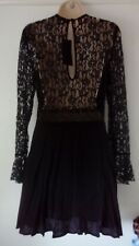Zara black lace dress size S could fit an M too