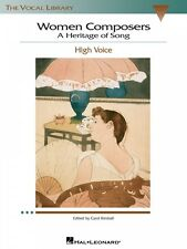 Women Composers A Heritage of Song The Vocal Library High Voice Vocal 000740270