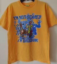 Scooby Doo & Shaggy T-Shirt -I'm Not Scared I'm Groovin'- 2004 Hanna-Barbera S/M