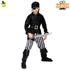 Kids Pirate Costumes Boy Carnival Party Cool Viking Cosplay Outfit