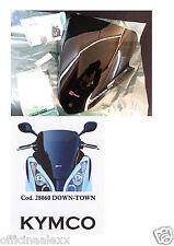 Faco Cupolino Kymco Down-town Fumè scuro con serigrafia Cod. 28060
