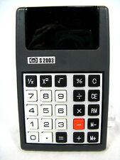 RARE 70´s Vintage Calculator calculatrice Elite S 2003 + CASE Working