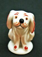 (86) Walter Bosse Hund Groteske Metzler&Ortloff Porzellanfigur Pekinese Miniatur