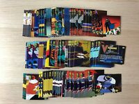 Batman & Robin: The Adventures Trading cards Base set +pop up by Skybox 1995