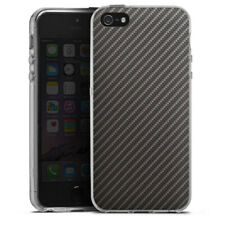 Apple iPhone 5 Silikon Hülle Case - Carbon