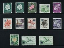 NORFOLK ISLAND, QEII, 1966, 13 stamps from set to $1 value, UM, Cat £14.