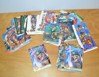 Vintage 1994 FLEER X-MEN Trading Card Lot Marvel Comics With Chromium Raza