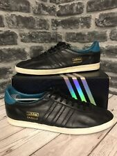 Adidas Gazelle Og Trainers UK Size 12 Black Leather G96699