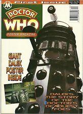 Marvel DR DOCTOR WHO POSTER MAGAZINE Issue 1 DALEKS December 1994 - VERY RARE
