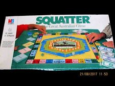 ~SQUATTER BOARD GAME - THE AUSTRALASIAN FARMING GAME - COMPLETE - GC~
