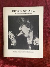 RUSKIN SPEAR RA.  A Retrospective Exhibition at Royal Academy 1980 and 4 invites
