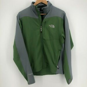 The North Face Jacket Men's M Green Full Zip Flight Series Logo Sweater