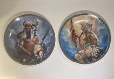 New ListingBradford Exchange Native American Defender Of Honor & Defender Of Spirits Plates
