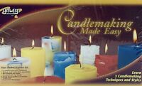 Yaley Candlemaking Made Easy Candle Making Kit New 3 Colors Vanilla Sent