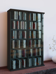 "VCM® CD/DVD-Turm ""Roma"" für 300 CDs · 7 Farben · Regal Schrank CD-Möbel DVD-Möbe"