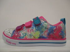 Skechers Twinkle Toes Rainbow Cutie Child Girls Trainers UK 13C EUR 1 REF 5880~