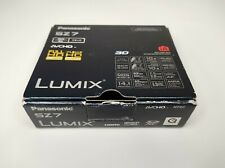 Panasonic LUMIX DMCSZ7 14.1MP Digital Camera Leica Lens 10x Zoom Box Charger