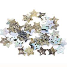 Estampado de Estrellas Acrílico 2 Agujero Botones en 2 colores y tamaño 18mm Novedad