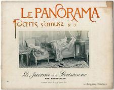 Le Panorama, Paris s'amuse No. 3. Abbildungen von Reutlinger