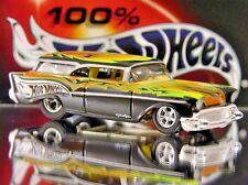 100% HOT WHEELS 1957 CHEVY NOMAD LIMITED EDITION FUNNY CAR 1/64 TROY LEE