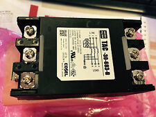Cosel Power Line Filters 3Phase 500VAC 30A DIN Rail Type, TAC-30-683-D
