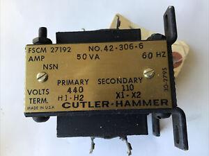 Cutler Hammer transformer 42-306-6