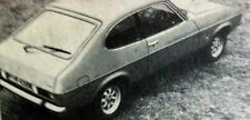 FORD CAPRI II 1600GT - 1974 - Road Test removed from AUTOCAR