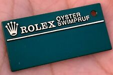 Rolex Submariner GMT-Master Sea-Dweller Oyster Swimpruf Green Hang Tag ORIGINAL