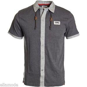 Henleys Mens Charcoal Grey Short Sleeve Polo T Shirt Top BNWT Free UK Shipping S
