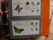 BUTTERFLIES PAIR OF FDCs KINGSTON ACT FDI POSTMARK