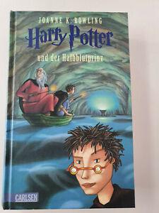 Harry Potter und der Halbblutprinz- gebundene Ausgabe
