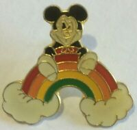 Mickey Mouse Remus on a Rainbow Cloud  disney  Pin 17295 Variation HTF  W
