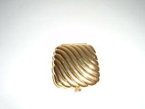 Vintage Estee Lauder Gold Compact Mirror