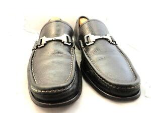 """Allen Edmonds Men's Shoes """"Firenze"""" Italian Bit Loafers Black 11 D (170)"""