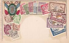 Frankreich Briefmarken Motiv Prägekarte