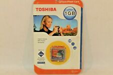 Toshiba 1 GB Compact Flash Card for Digital Cameras, MP3 Players, & Notebooks