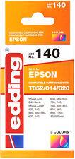 Epson Patrone 3 Farben + Schwarz Sytlus C20 C40 Color 400 600 700 860 880 1160