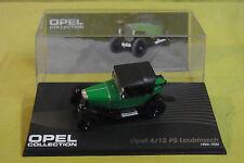 Modellauto - Opel Collection - Opel 4/12 PS Laubfrosch - 1924-1926 - grün - 1:43