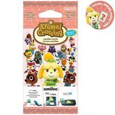 Animal Crossing Amiibo Series 4 - one amiibo card pack - EU official version