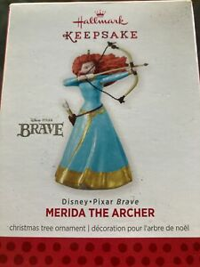 Hallmark Keepsake Ornament 2013 Merida the Archer Disney Pixar Brave Bow NIB