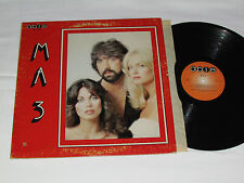 MA 3 M.A. 3 LP Disco Album Bee Gee's Mania+ Able Records Canada Vinyl Album 1978