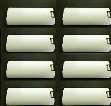 8 x Lot BLANC NINTENDO ORIGINAL Wii Télécommande Couvercle de batterie door