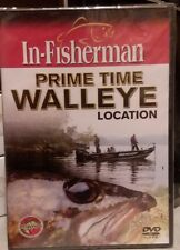 In-Fisherman Prime Time WALLEYE Location DVD, fishing Video