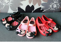 Christmas Jelly Shoes For mickey minnie mouse Unicorn Dress Up melissa Sandals