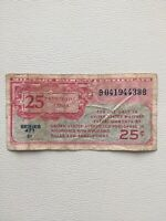 Military Payment Certificate 25 Cent Rare Series 471