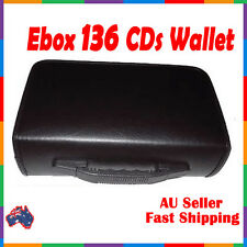 New! Ebox 136 DISC CD DVD MOVIE HOLDER storage WALLET insert COVER Post SLEEVES