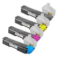 4pk BLACKCOLOR TK592 TK592K Laser Toner Cartridge for Kyocera Mita FS-C2026MFP