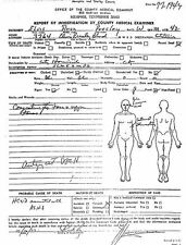 Framed Print - Elvis Presley Autopsy Report (Picture Poster Death Gothic Art)