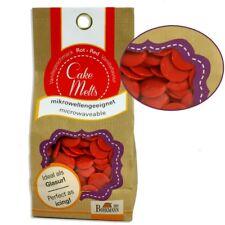 Cake Melts Rot, 250g, auch für die Mikrowelle, Vanillegeschmack, Glasur